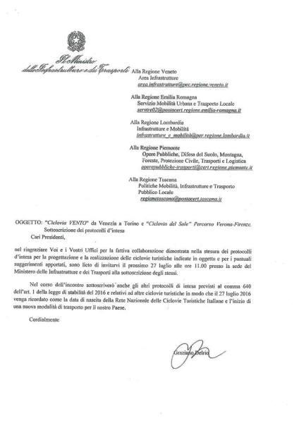 protocollo VenTo